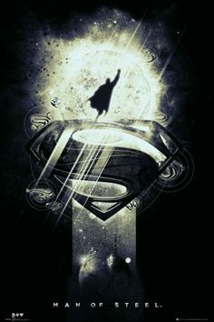 Man Of Steel promotional poster artwork