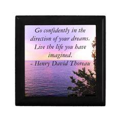 Henry David Thoreau QUOTATION