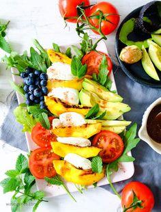 Salat Caprese mit ge