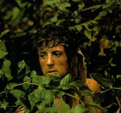 """Sylvester Stallone en """"Acorralado (Rambo)"""" (First Blood), 1982"""