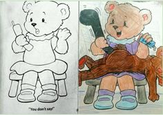 coloring book corruptions - Dirty Coloring Books