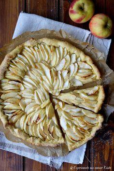 Experimente aus meiner Küche: Apfeltarte