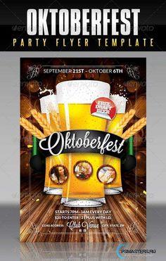 GraphicRiver Oktoberfest Flyer Template 5570670