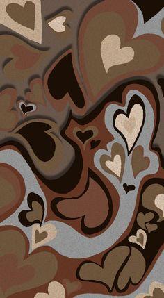 Aesthetic brown wallpaper