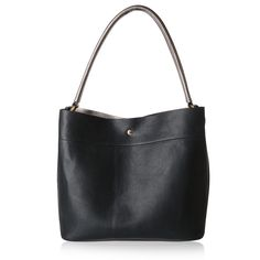 Buy Black Slouch Hobo Bag from Oliver Bonas
