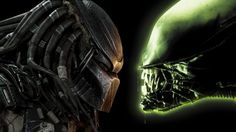 Alien vs Predator Full HD Wallpaper.