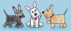 Draw Dogs I'm not an elementary teacher, but it was so cute. Paper dog with moveable tongue AND story questions! Kindergarten Art Lessons, First Grade Art, Elementary Art, Elementary Teacher, Ecole Art, Dog Crafts, Shape Art, School Art Projects, Arts Ed