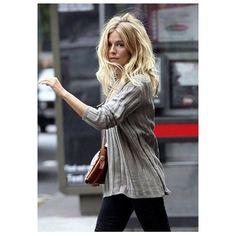 sienna miller hair here Estilo Sienna Miller, Sienna Miller Hair, Sienna Miller Style, Corte Y Color, Hair Day, Pretty Hairstyles, Look Fashion, Girl Crushes, Her Hair