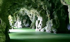 I do love a good grotto--The Queen's Grotto in Sintra, Portugal