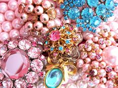 Marie Antoinette, Baubles, Costume Jewelry, Pastels