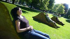 Burg, outdoors, artificail grass, public art, installation art, interactive art