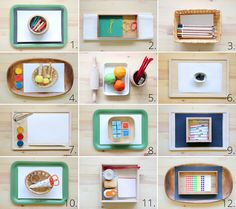elternvommars: Montessori art materials for 3 1/2 years old