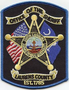 LAURENS-COUNTY-SOUTH-CAROLINA-SHERIFF-PATCH