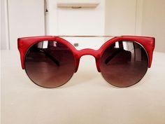 vermelho - óculos