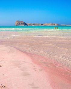 Elafonissi BeachGreeceInformationAddress:Elafonissi, Crete GreeceMapTripadvisorW... Voyager C'est Vivre, Greece Destinations, Beach Place, Future Travel, Stunning View, Adventure Awaits, Beautiful Places, Beautiful Scenery, Wonders Of The World