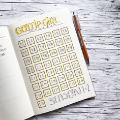 Just started watching gossip girl and I can't stop not that kind of series I would normally watch but I'm really into it at the moment. What is your favorite series at the moment ? TAG me on your tracker as well xoxo ( I just couldn't resist ) . . . . . . . . . #bulletjournal #journalling #filofax #planner #planwithme #handwritting #bujo #bohoberry #bulletjournalkey #tombow