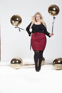 plus size Model Caterina Pogorzelski Plus size Blog: www.megabambi.de Plus size Designer grosse Größen Evelin Brandt Berlin