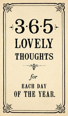 365 Lovely Thoughts Pad – Sugarboo & Co