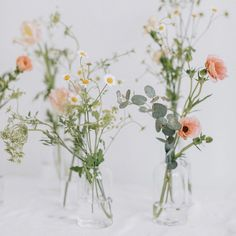 Getting Fine Wedding Centerpieces; An Update On Painless Fun Wedding Decorating Solutions - Wed By Stephanie Wedding Vases, Wedding Menu, Wedding Table, Floral Wedding, Wedding Bouquets, Small Wedding Centerpieces, Whimsical Wedding Flowers, Wildflowers Wedding, Paris Wedding