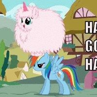 FLUFFLE PUFF Dancing on Rainbows