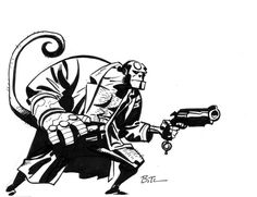 Hellboy by Bruce Timm