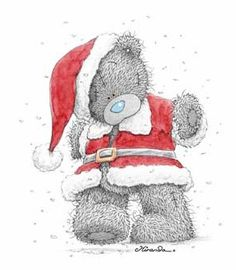 Merry Christmas, Tatty Teddy  www.sendateddy.net  #teddybears