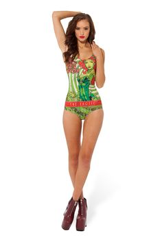 Poison Ivy Swim by Black Milk Clothing $100AUD