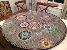 Best Mosaic animals ideas on Mosaic Diy, Mosaic Crafts, Mosaic Projects, Mosaic Glass, Fused Glass, Stained Glass, Mosaic Ideas, Outdoor Table Tops, Mosaic Furniture