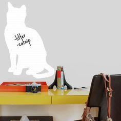 Cat Dry Erase Decal