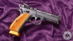 CZ 75 SP-01 Shadow Orange semi-automatic pistol produced by Czech Zbrojovka BrodSave those thumbs & bucks w/ free shipping on this magloader  I purchased mine http://www.amazon.com/shops/raeind No more leaving the last  round out because it is too hard to get in. And you will load them  faster and easier, to maximize your shooting enjoyment.  loader does it all easily, painlessly, and perfectly reliably
