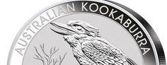 Kookaburra Silber Kilo Auflagen