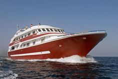 Cassiopeia Diving Liveaboard offers dive trips in Egypt and Sudan