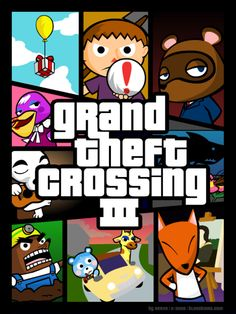 Animal Crossing Grand Theft Crossing 3