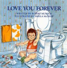 Love You Forever By Robert N. Munsch  Another one of our favorites. I remember getting this book from Nick's uncle Doug and aunt @Michelle Hummel. The words always bring sparkles to my eyes!!
