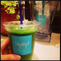 今日もランチはSky High greenは野菜テイスト!