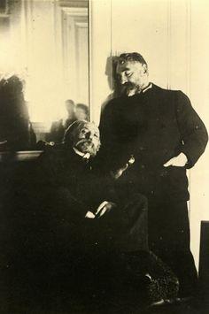 Edgar Degas, PIERRE AUGUST RENOIR AND STEPHANE MALLARMÉ
