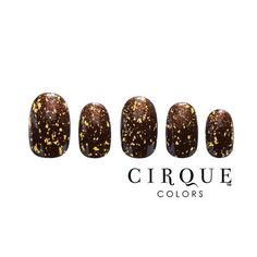 #ManiMonday Follow these steps to re-create this #festive #Thanksgiving look: 1 - Apply 2 coats of #CirqueColors KNICKERBOCKER as the base color 2 - When dry, use a makeup sponge to dab on #CirqueColors FRENCH ROAST to the nail tips 3 - Add a quick touch of glam by applying 1-2 coats of #CirqueColors AU - our 23K gold flake 4 - Finish with top coat ** For best results, always start with our HOLDFAST™ base coat and end with our LIQUID LAMINATE™ top coat.