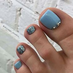 """Determine additional info on """"trending nail designs simple"""". Check out our site. Feet Nail Design, Toe Nail Designs, Acrylic Nail Designs, Cute Pedicure Designs, Gel Toe Nails, Feet Nails, My Nails, Matte Nails, Pretty Toe Nails"""
