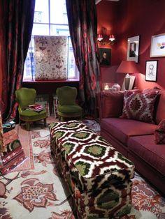 Bohemian inspired living room