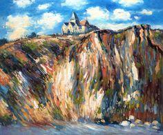 Monet - Church at Varengeville, Morning