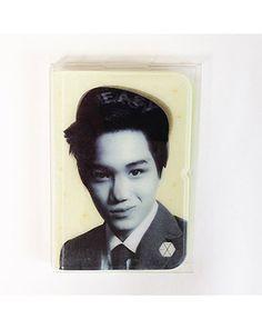 K2POP - SMTOWN POP-UP STORE EXO OFFICIAL GOODS - HOLOGRAM CARD CASE (KAI)