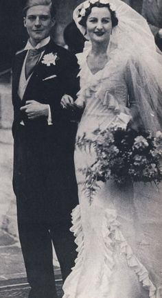 "Nancy Mitford wedding to Peter Rodd (""Prod"")"