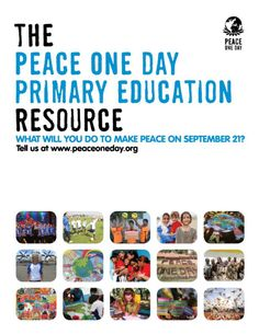 With thanks to @Ocado, we have launched our Primary Education Resource for children aged between 5-11yrs old. For more information and to access this amazing new resource check out: http://www.peaceoneday.org/resources