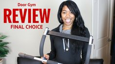Watch our full door gym review of the larger version of the door gym exercise bar including how to assemble it, quality assessment, and pros and cons.