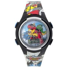 Power Rangers Dino Charge LCD Watch