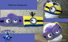 Crochet Minion Headband - Picture Idea