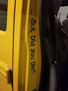 Jeep Wrangler Accessories Discover But did you die? Accessoires De Jeep Wrangler, Accessoires Jeep, Jeep Wrangler Accessories, Jeep Wrangler Amarillo, Yellow Jeep Wrangler, Jeep Wrangler Interior, Wrangler Tj, Auto Jeep, Jeep Jeep