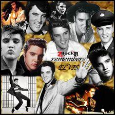 Elvis Presley Collage' Photoartist LisaKay Allen/PassionFeast