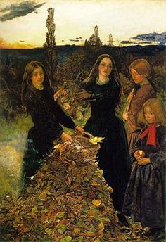 Millais - Autumn leaves