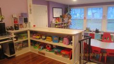 simple in-home Daycare Setup